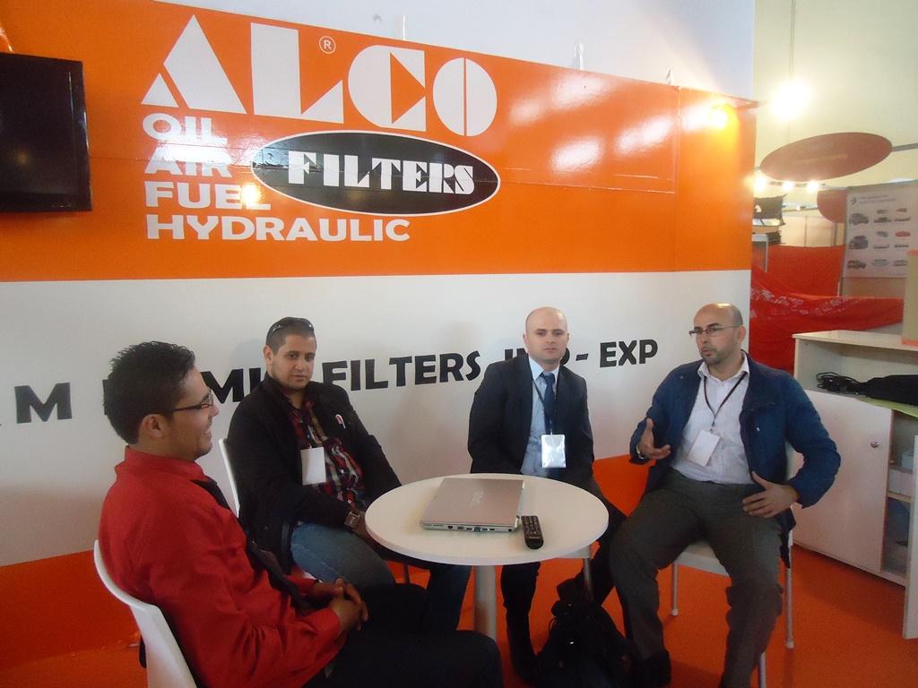 Alco Filters Exhibits In Equip Auto Algeria 2014 Fuel 4 2