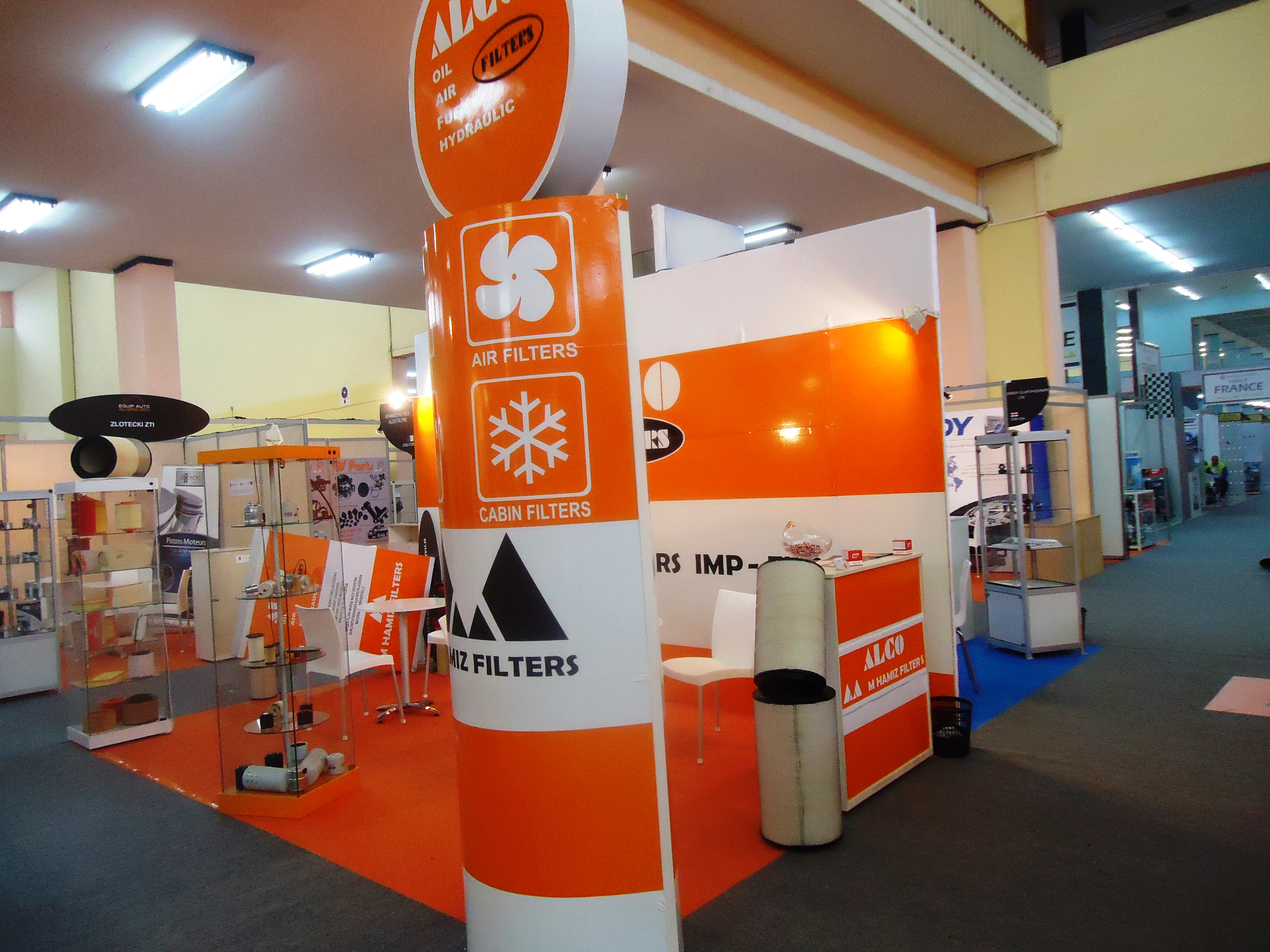 Alco Filters Exhibits In Equip Auto Algeria 2014 Fuel For Becoming An Reseller Please Contact Mr Stelios Symeonides Sales Export Manager Tel 357 22 467667 Fax 484450